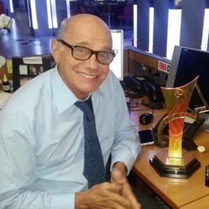 Jornalista Ricardo Boechat.