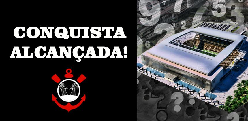 Conquista Alcançada_Frente Liberdade Corinthiana une Oposição e consegue reunião extraordinária para esclarecer números e dados da construção da Arena Corinthians.