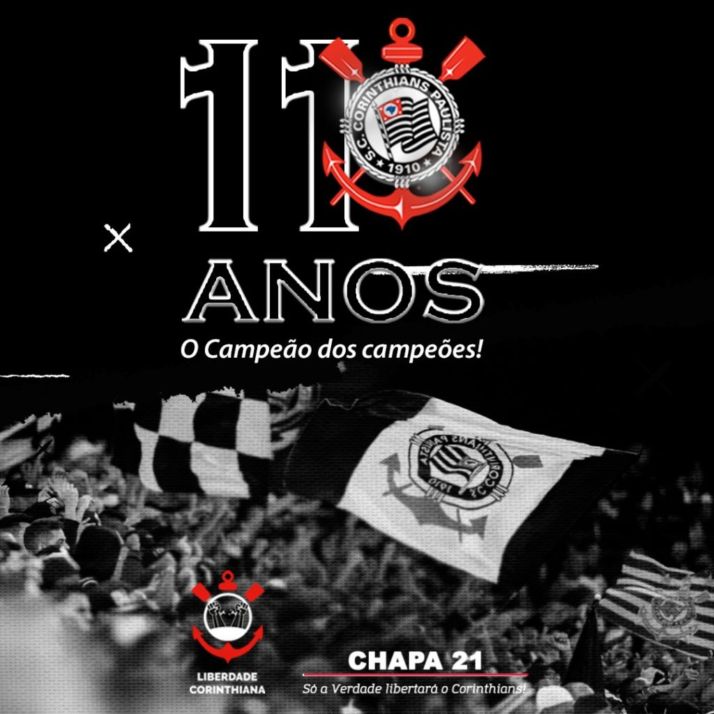 Corinthians 110 Anos